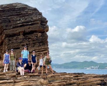 Encompass group in Tung Ping Chau